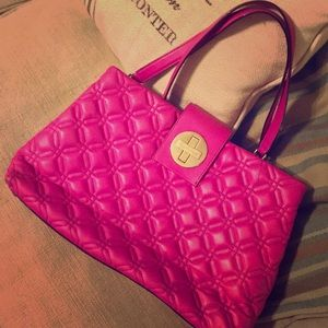Hot pink Kate Spade purse